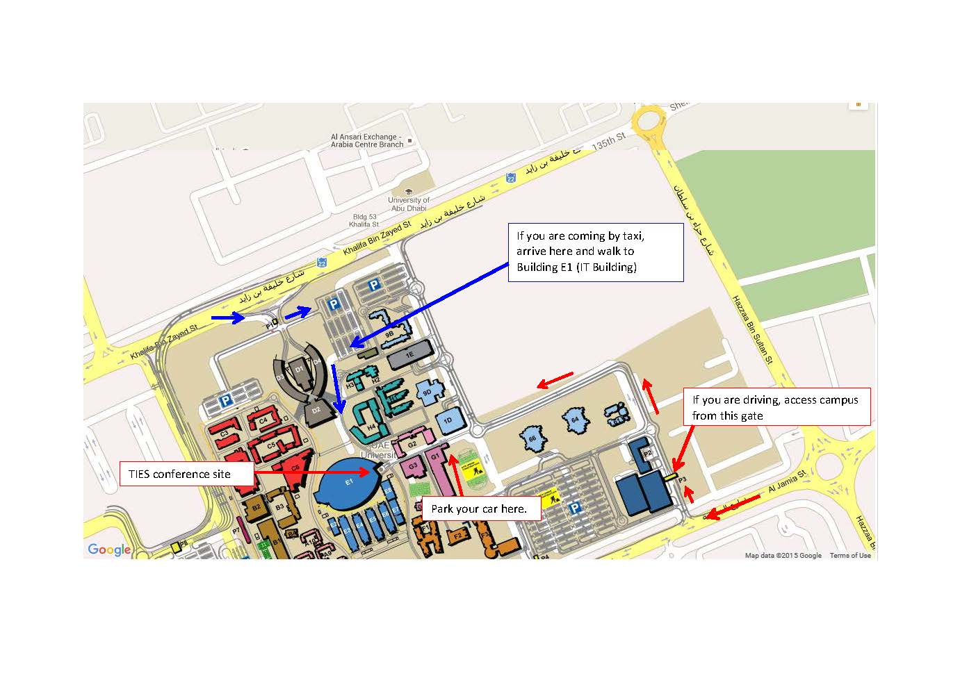 map of uea campus Ties 2015 map of uea campus